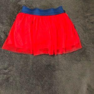 Girls Disney Red & Blue Tulle Skirt ❤️💙